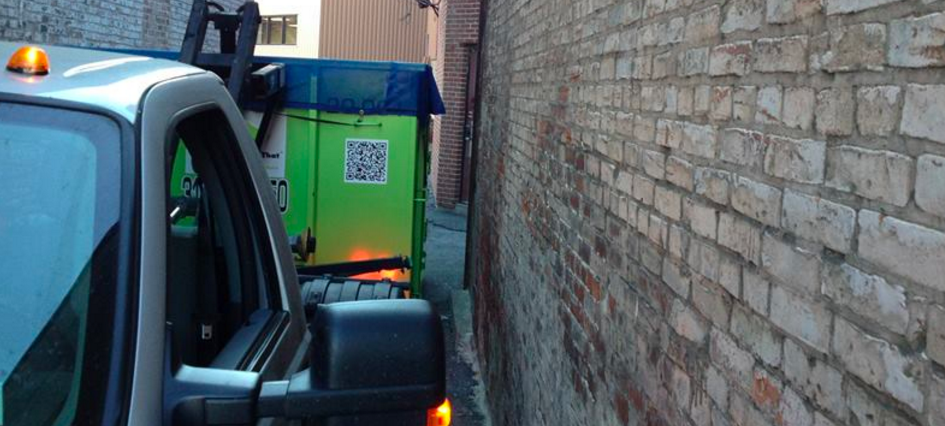 renting a dumpster is the right idea for any home renovation project