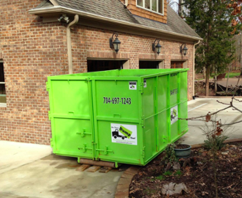 20 Yard Dumpster in Charlotte