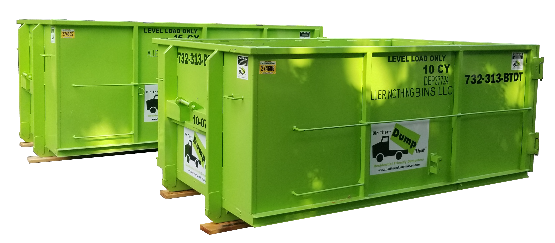 Your 5-Star, Most-Reliable, Residential Friendly Dumpsters for Central New Jersey
