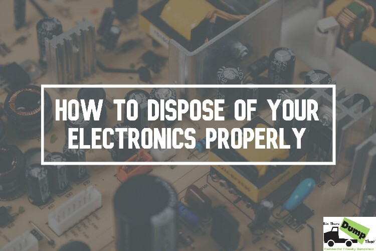 How to Dispose of Electronics Properly and Safely