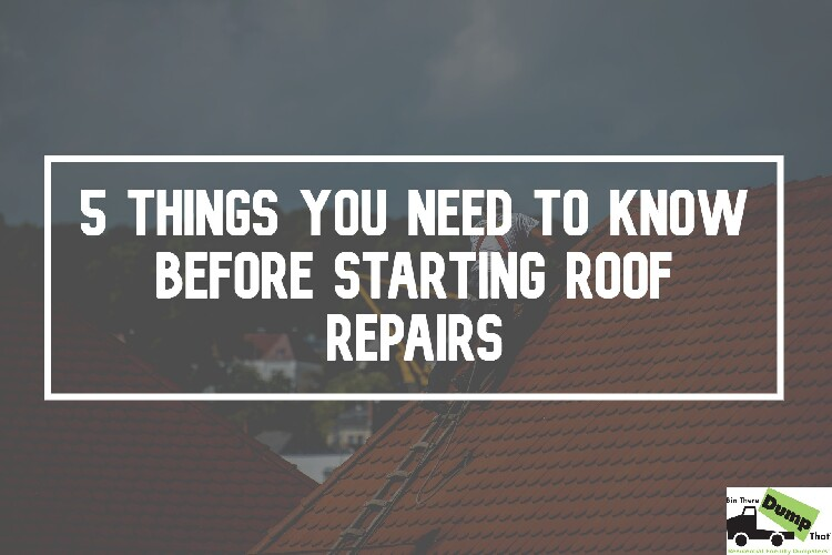 Things You Need To Know Before Roof Repairs